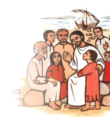 Inizio catechismo per i bambini di 3-4-5 elementare