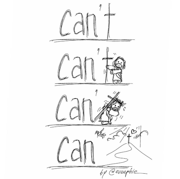 cant - can with the cross
