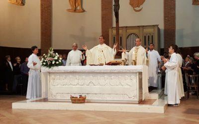 Don Andres ha celebrato la prima Messa a San Lazzaro!