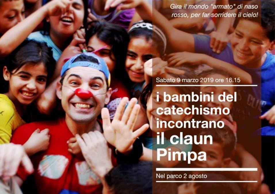 Il claun Pimpa torna a San Lazzaro