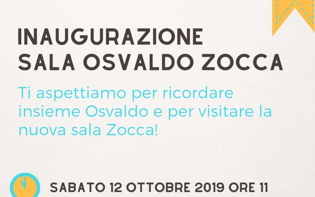 Inaugurazione Sala Osvaldo Zocca