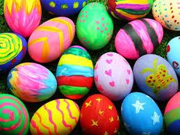 Benedizione delle uova in famiglia