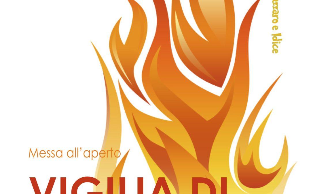 Vigilia di Pentecoste: messa all'aperto a San Marco