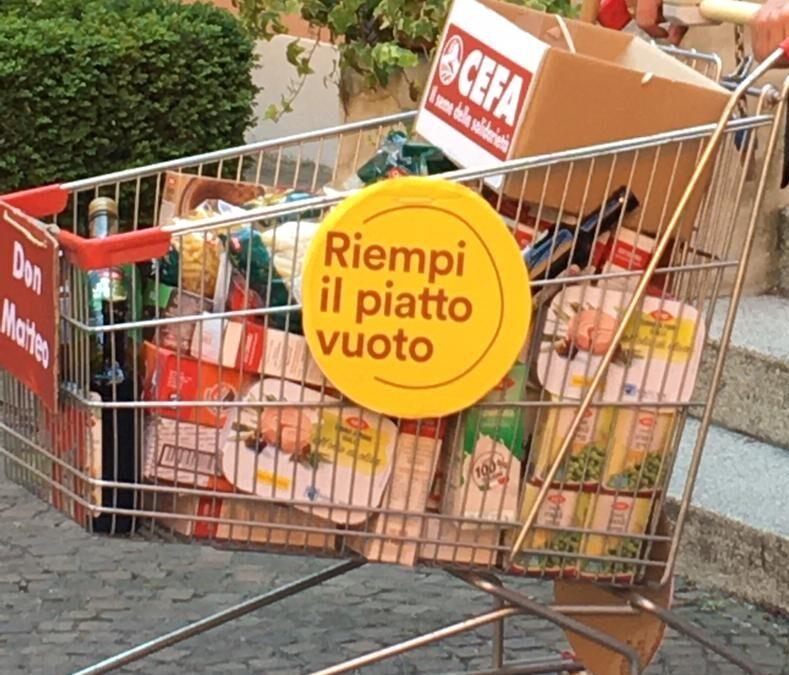 Giornata Mondiale dell'alimentazione – Cefa, Riempi il piatto vuoto