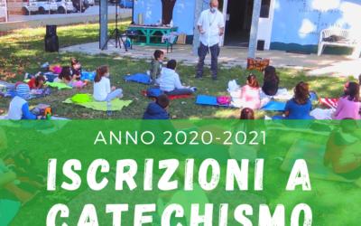 Iscrizioni a catechismo 2020-2021