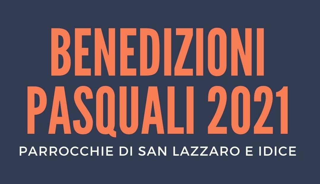 Benedizioni Pasquali 2021, come prenotarsi