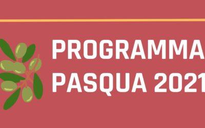 Programma della settimana santa 2021