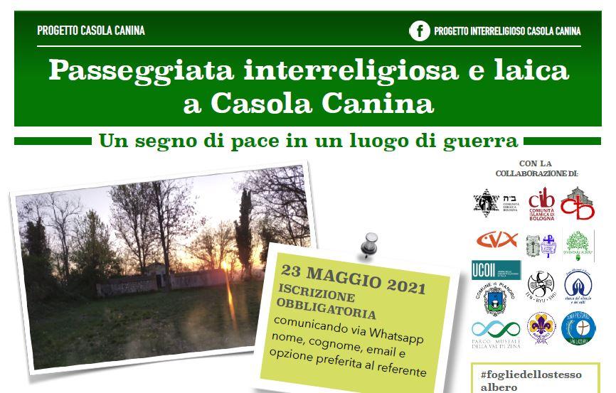 Passeggiata interreligiosa e laica a Casola Canina
