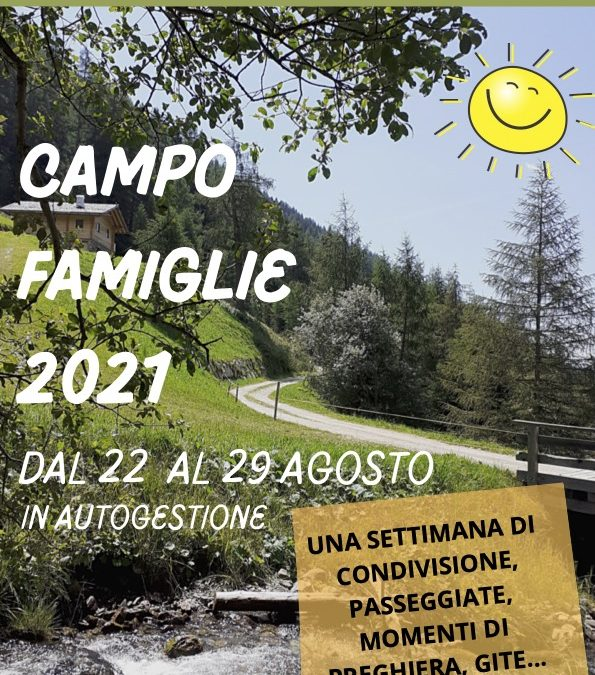 Campo famiglie 2021