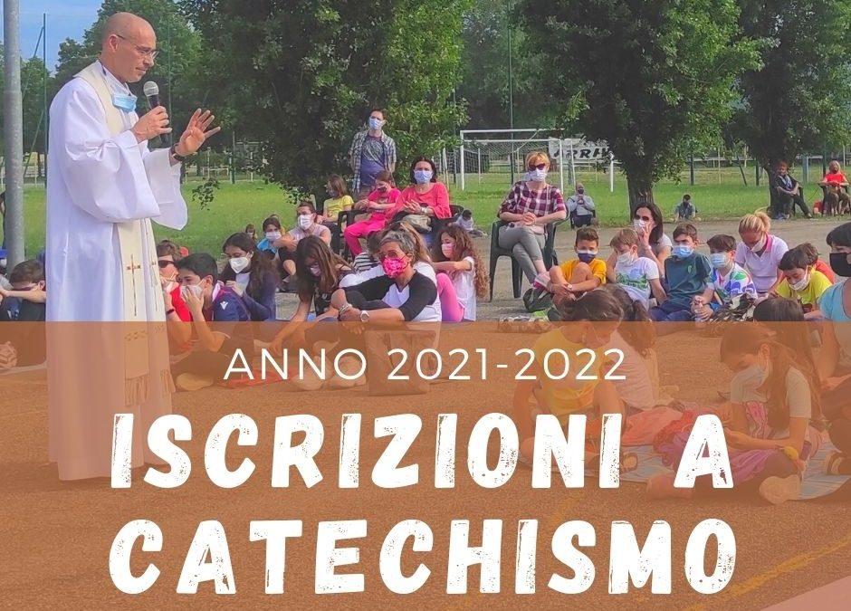 Iscrizioni a catechismo 2021-2022